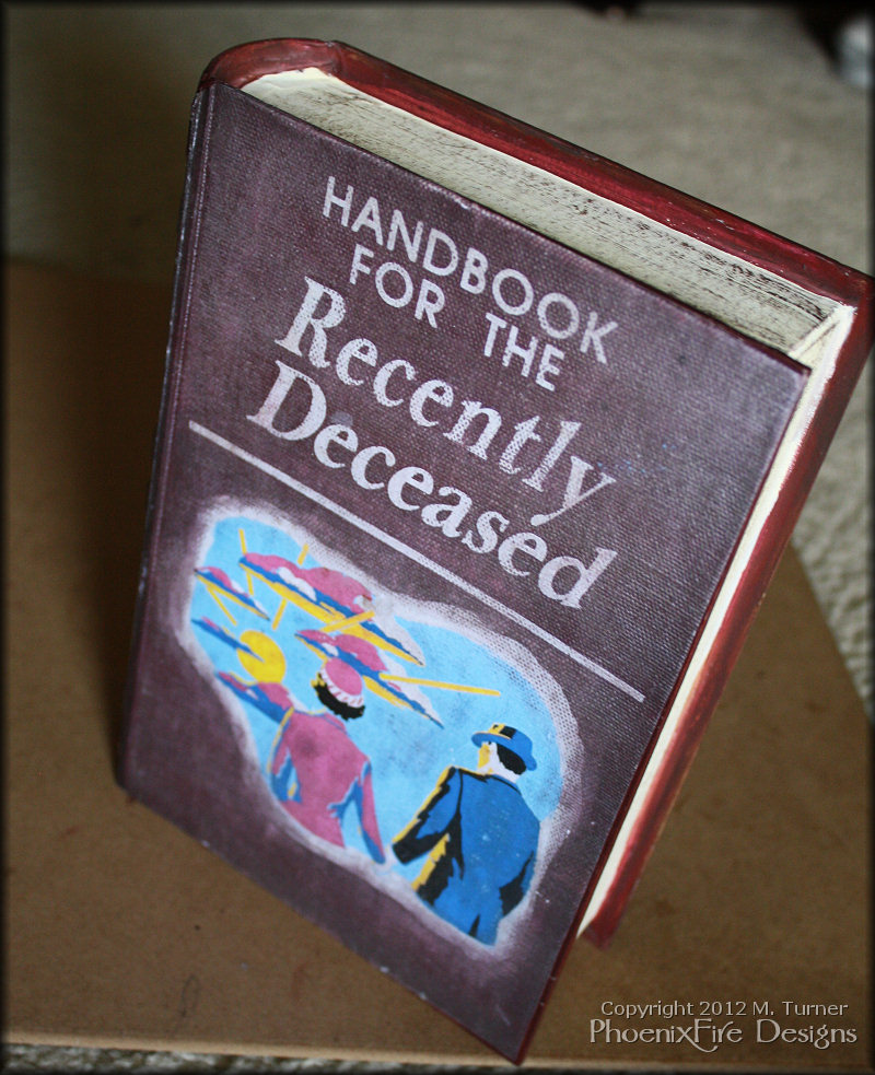 Handbook for the Recently Deceased (It reads like stero ...