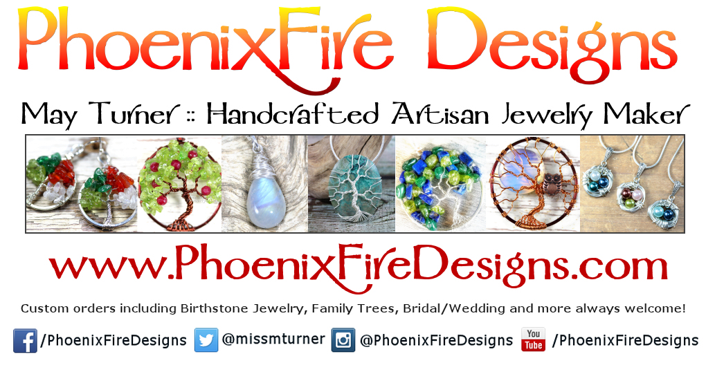 PhoenixFire Designs Handcrafted Artisan Jewelry by May Turner